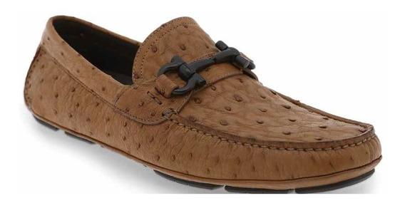 Zapatos Salvatore Ferragamo Parigi 6.5ee Piel De Avestruz
