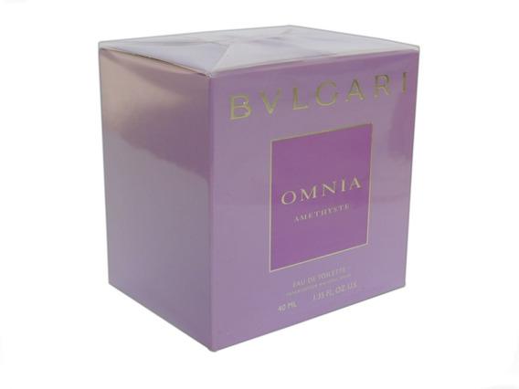 Perfume Bvlgari Omnia Amethyste 40 Ml Eau De Toilette
