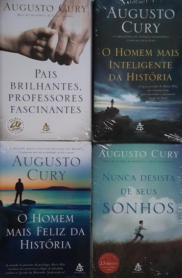 O Homem Mais Inteligente Da História + 3 Livros De A. Cury 2