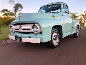 Ford F100 V8 1958 Nao É Dodge Maverick Mustang Aceito Troca