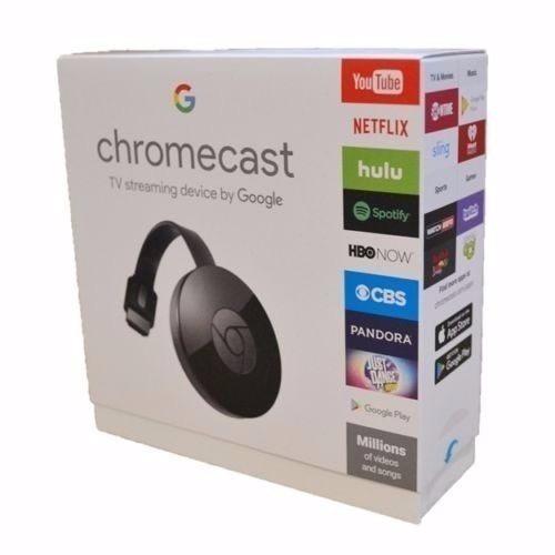 Chromecast 2 Original Cromecast Lacrado 3 Mes De Garantia