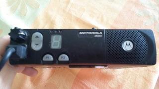 Radio Movil Motorola Con Portadora Y Antena En Su Caja