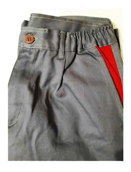 Pantalon De Trabajo T/46 100% Algodón Santista 4 Bolsillos