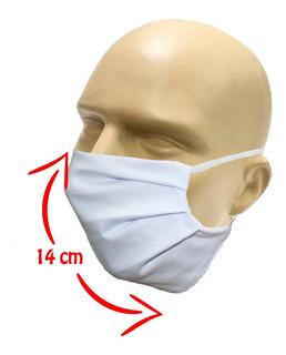 20 Máscaras De Tecido Adulto Algodão Lavável Não Descartável