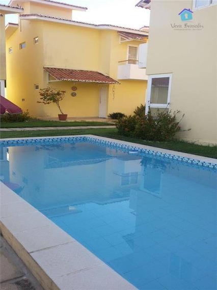 Oportunidade: Ótima Casa Duplex No Condomínio Caravelas Em Praia Bela - Ca0262