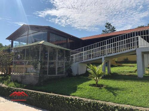 Pousada Com 12 Dormitórios À Venda, 1650 M² Por R$ 5.000.000,00 - Fazenda Bom Retiro - São José Dos Campos/sp - Po0002