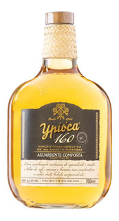 Aguardente Composta Com Malte Ypióca 160 Anos Garrafa 700ml