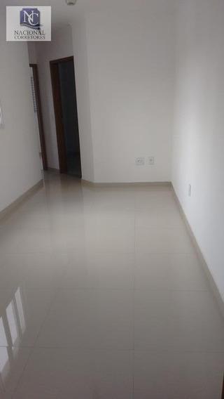 Apartamento Com 2 Dormitórios À Venda, 50 M² Por R$ 230.000 - Vila Curuçá - Santo André/sp - Ap2411