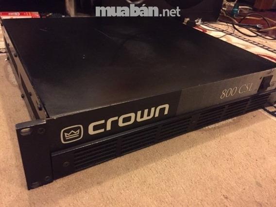 Amplificador De Potência Crown 800 Csl Troco Por Interface