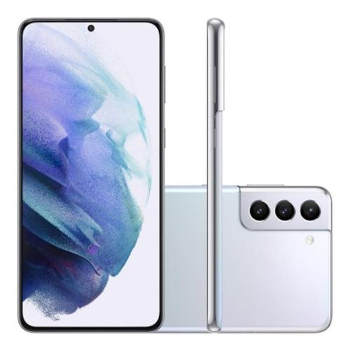 Celular Smartphone Samsung Galaxy S21+ G996b 256gb Prata - Dual Chip
