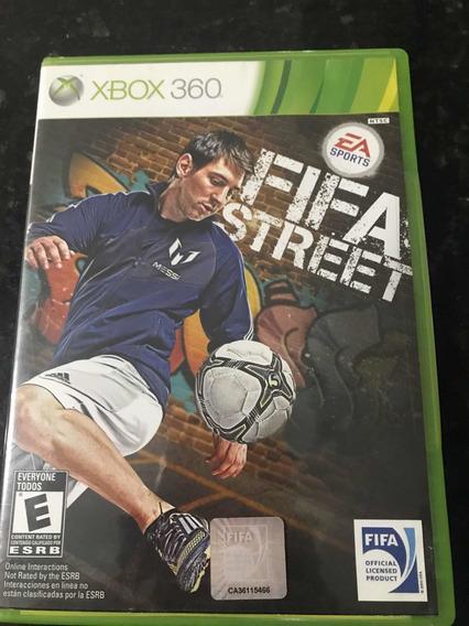 Jogo Xbox 360 Fifa Street Original Mídia Física