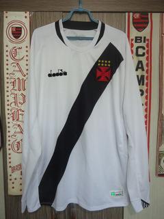 Camisa Vasco Da Gama ( Diadora / Mangas Compridas )