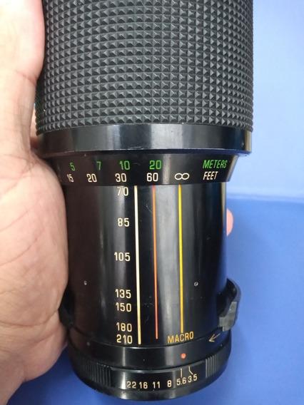 Lente 70-210mm Macro Para Câmeras Pentax