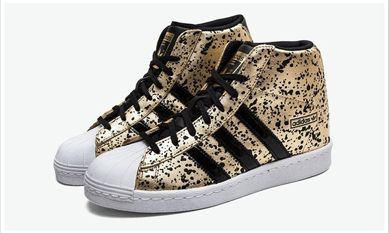 Tênis adidas Superstar Up Shoes Cano Alto