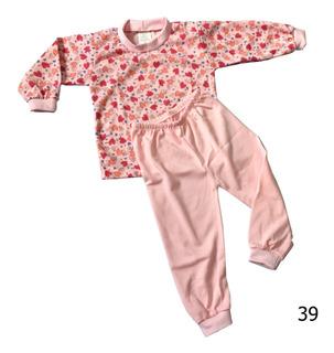 Conjunto Pijama Infantil Bebe Calça + Blusa Menino Menina