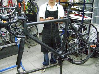 Colnago E1 Autentica Original 55 Carbono Bicicleta Ruta Negr