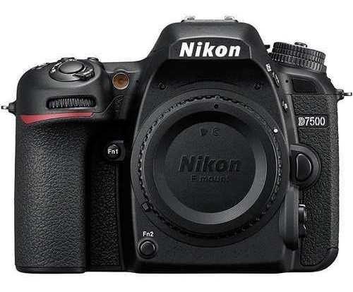 Câmera Dslr Nikon D7500 Kit Deluxe Lente De 18-140mm Vr