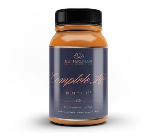 Complete Life Imunidade Vitamina C D Zinco 60 Cáp Betterlife