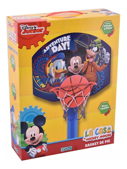 Mickey Basket De Pie Ditoys