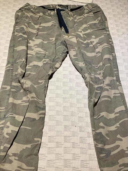 Pantalon Babucha Cargo Gola Camuflado Xl