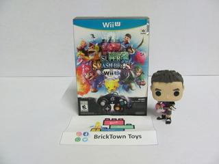 Super Smash Bros Bundle Wii U 2014 Control+adapter Bricktown