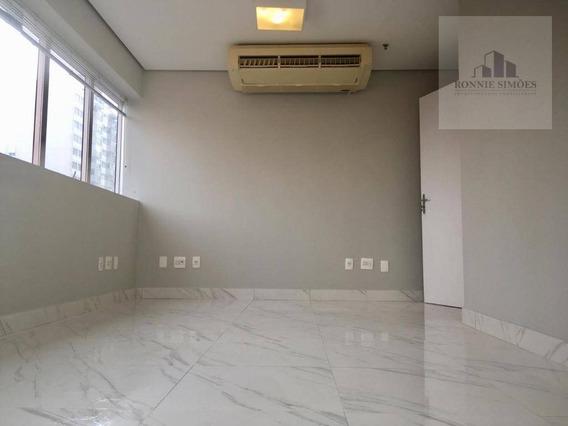 Sala Para Locação, Moema, 32 M 2, Av. Rouxinol, Condomínio Montreal, São Paulo/sp - Sa0270