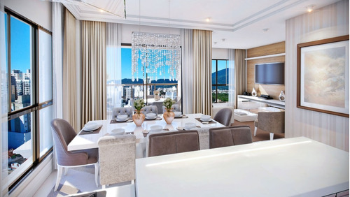 Imagem 1 de 12 de Ref: 23 - Apartamento Com 3 Suites Na Meia Praia - V-amd23