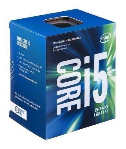 Processador Core I5 7400 Lga 1155 3.0 6mb 7a. Geracao