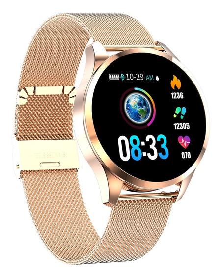 Reloj Inteligente Newwear #oro #acero Fino #smartwatch #2019