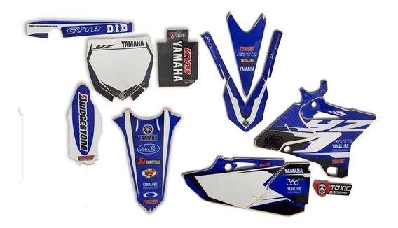 Kit Calcos 3m Toxic Yamaha Yz 125 250 16/20 Solomototeam