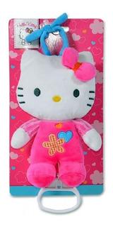 Hello Kitty Cunero Musical Cochecito Bebe Sonido Peluche