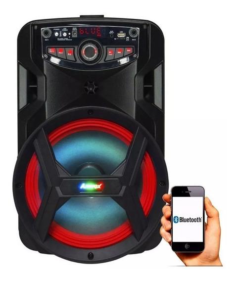Caixa Som Amplificada Bluetooth Sem Fio Portátil Bivolt