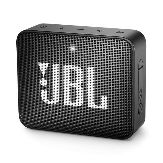 Caixa Portátil Jbl Box Go 2 3w Preto Bluetooth Prova D