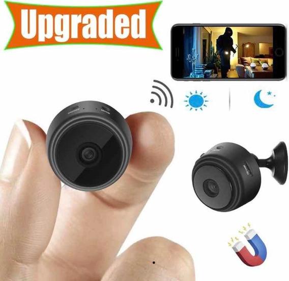 Mini Cámara Espia Inalámbrica Ful Hd Wifi 1080p ($42$ Vrds)