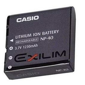 Bateria Casio Exilim Np-40 Li-ion Original Recarregável.