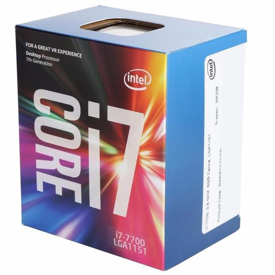 Processador Intel Core I7 7700 3.6ghz 8mb Lga1151 7ªgeraçao