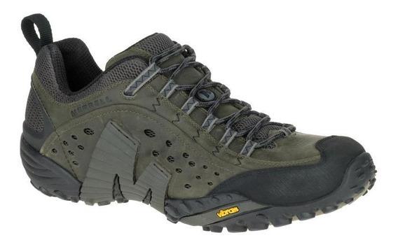 Zapatos Hombre Merrell Intercept Castle Rock Hiking Y Tre