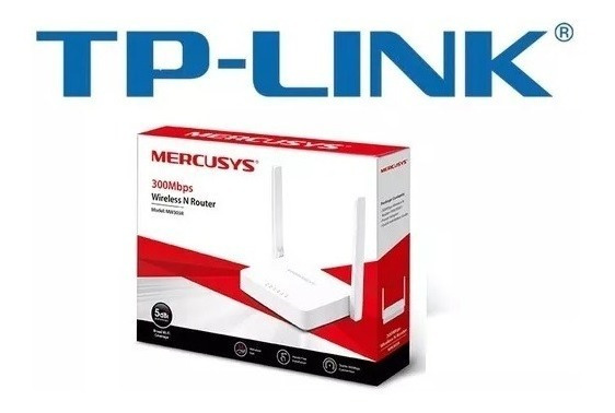 25 X Roteadores Tp-link Mercusys Mw301r 300mbps 2 Ant 5dbi