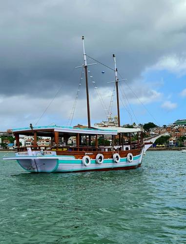 Imagem 1 de 6 de Escuna  ( Barco Madeira ) Turismo