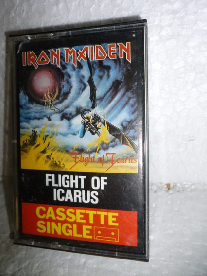 Fita K7 Single Iron Maiden Flight Of Icarus 1983 England