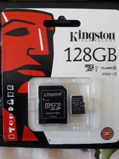 Micro Sdxc Kingston 128gb Classe 10