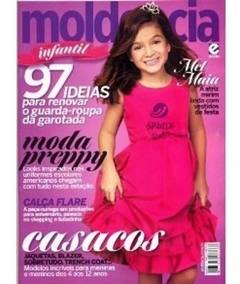Revista Moda Infantil Molde Cia Corte Costura Ed. 27
