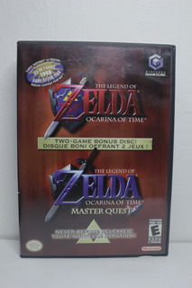 Zelda Ocarina Of Time Master Quest - Gamecube Original