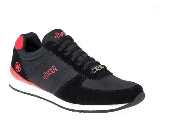 Zapato Casual Jeep S200, Tenis Piel, 825222, Urbano, Confort