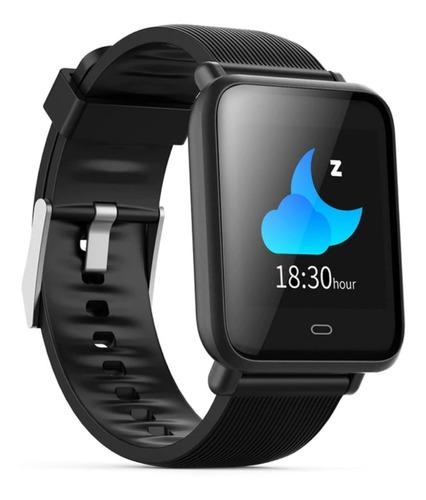 b85e7a9ef9e0 Relógio Inteligente Smartwatch Q9 Pressão Pulso +2 Pulseiras - R$ 188,80 em  Mercado Livre