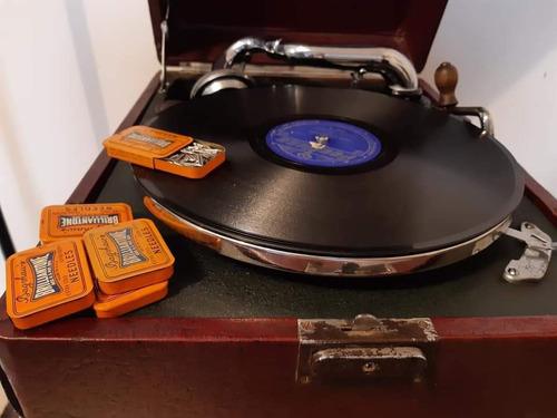 Aguja Para Vitrola Gramófonocajas Nuevas, Made In Usa