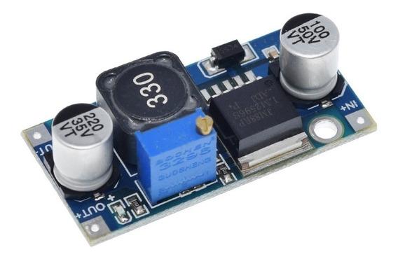 Regulador De Tensão Dc Lm2596 Ajustável 3a Arduino Esp8266 - Rav73