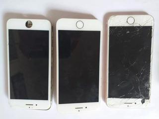 3 Iphones 7 Retirada De Peças