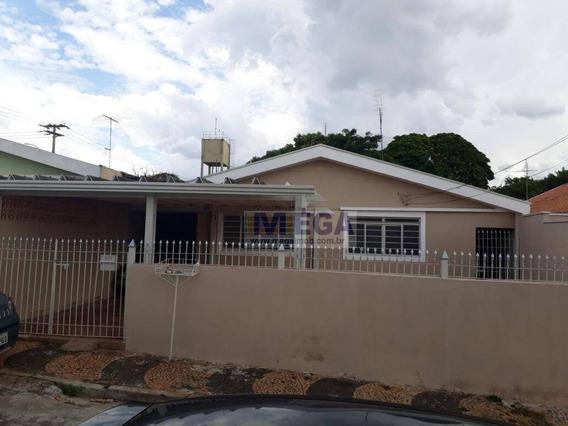 Casa Residencial À Venda, Vila Costa E Silva, Campinas. - Ca0641