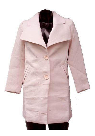 Abrigo Formal Moda Koreana Tela Gruesa